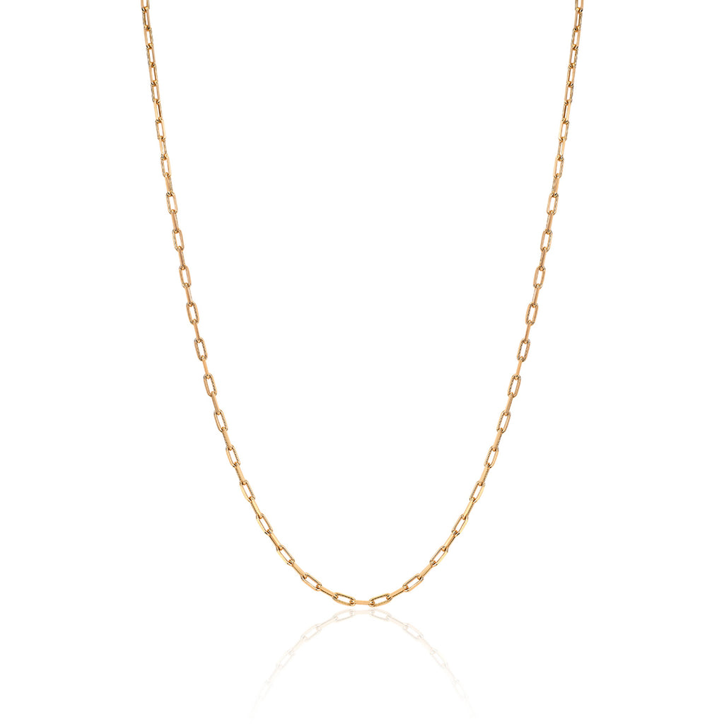 NEW! Baby Alchemy Link Necklace Yellow Gold