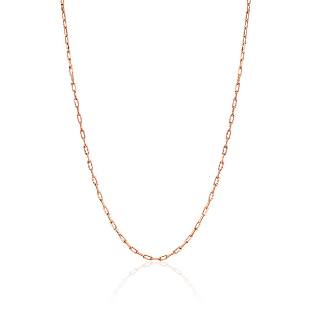 NEW! Baby Alchemy Link Necklace Rose Gold