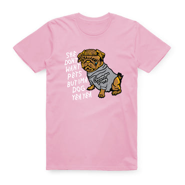 Champagne Puppy Tee