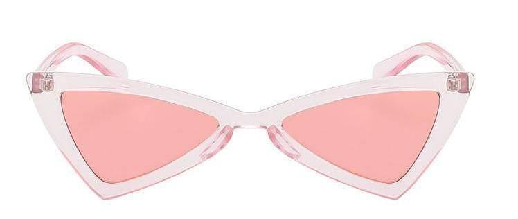 Pink  Butterfly Retro Vintage Sunglasses