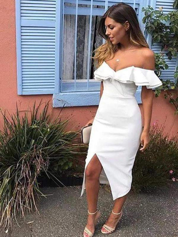 Summer Sexy Off Shoulder Women Dress