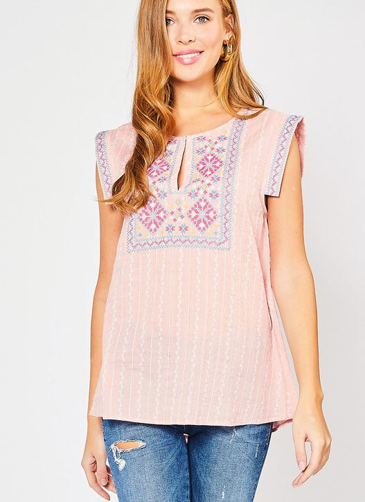 Kenny Top in Pink