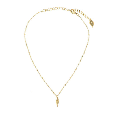 Dainty Choker With Charm in 14k gold finish | Modern boho jewelry | Criscara
