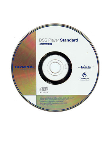 Olympus DSS Player Standard R2 Dictation Software