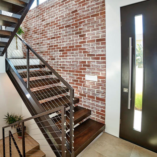 faux brick wall panels
