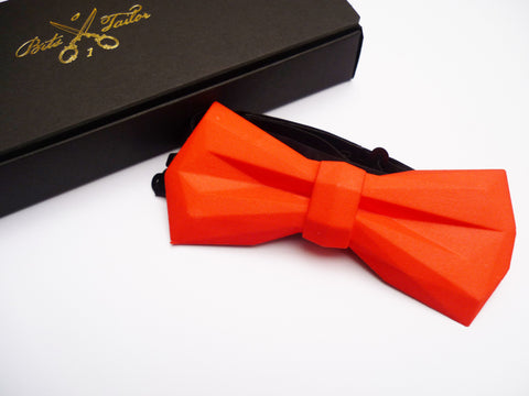 Red Low Poly bowtie - Ready to ship