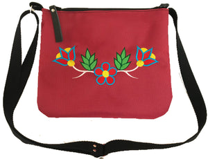 Niibin Mini Purse in Deep Red - Original Colours