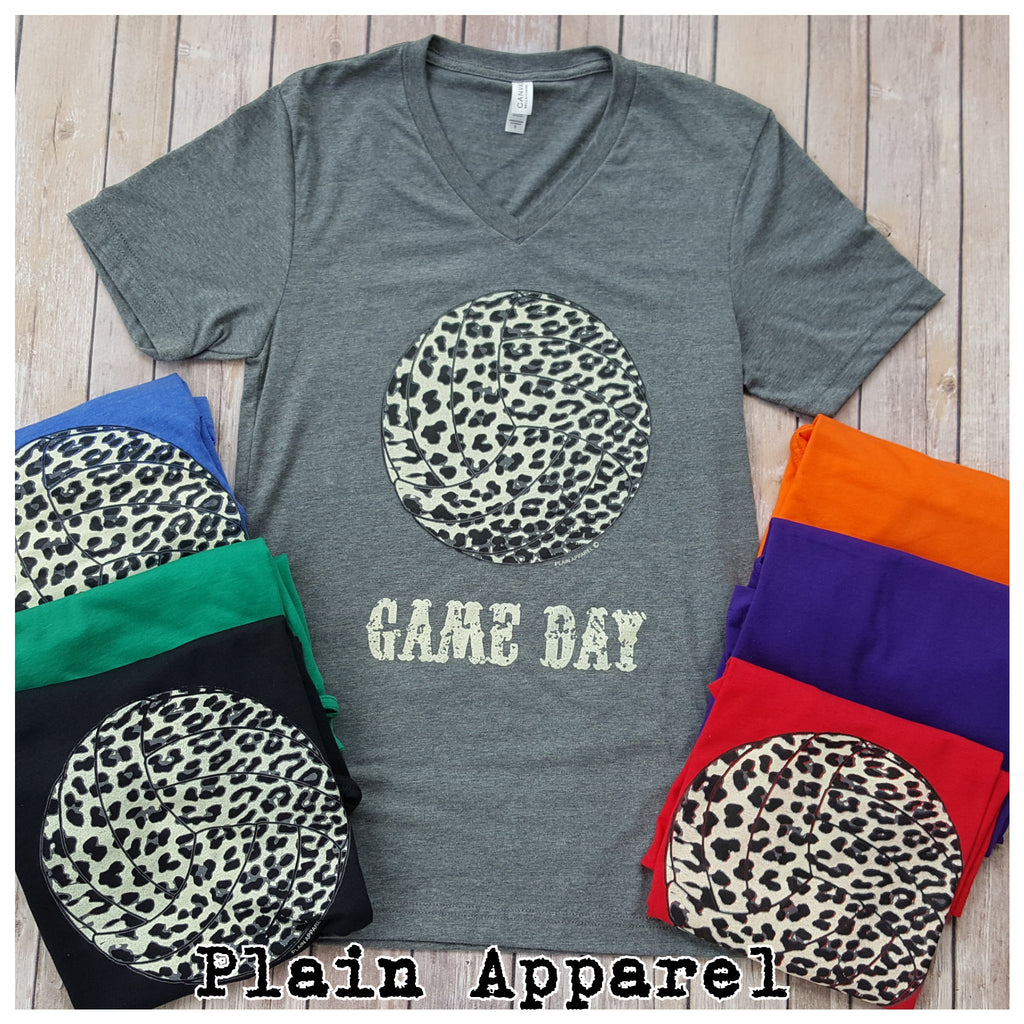 Volleyball Snow Leopard Game Day