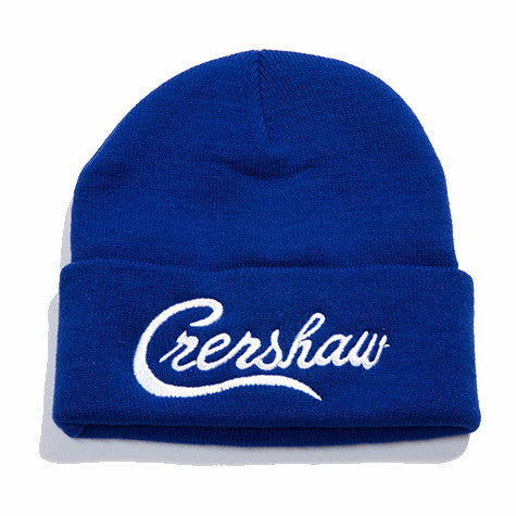 Crenshaw Beanie - Royal/White - Image 1