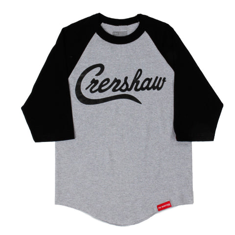 Crenshaw Raglan - Ath Heather/Black - Image 1