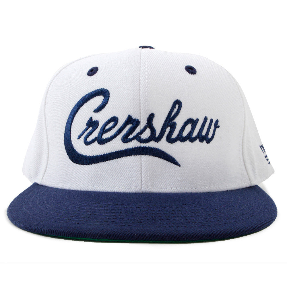 Snapback-Crenshaw-White-Navy-Front