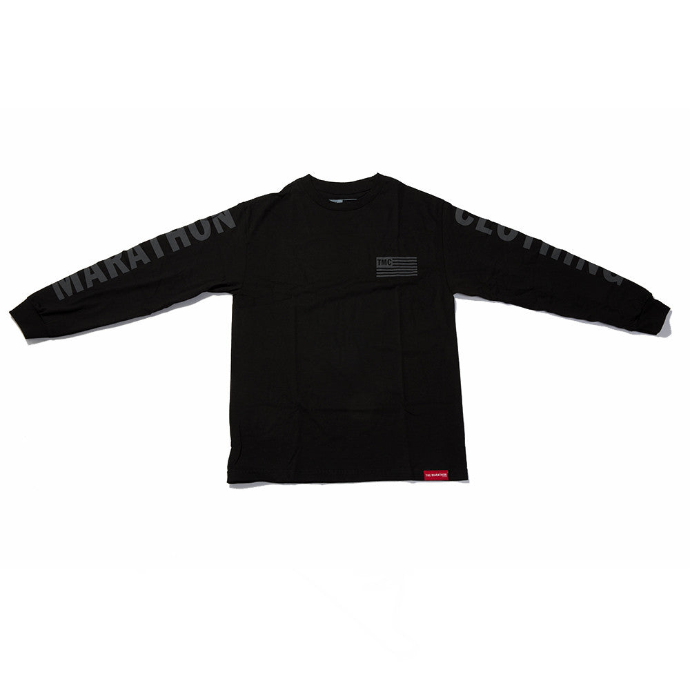 TMC Flag 3M Long Sleeve T-Shirt - Black - Image 1