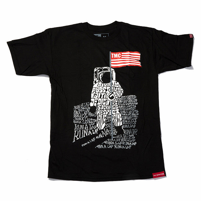 TMC Moon Man T-Shirt - Black - Image 1