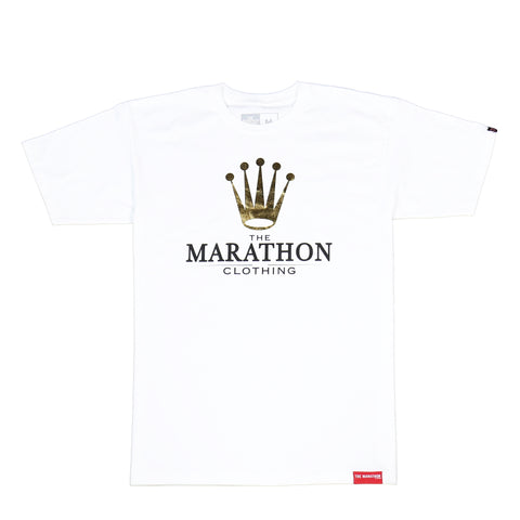 Marathon Royalty T-Shirt - White