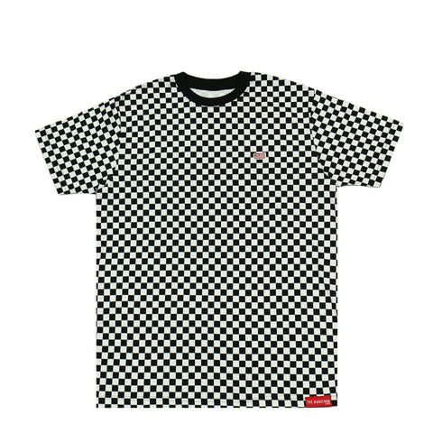 TMC Checkered Shirt - Black/White