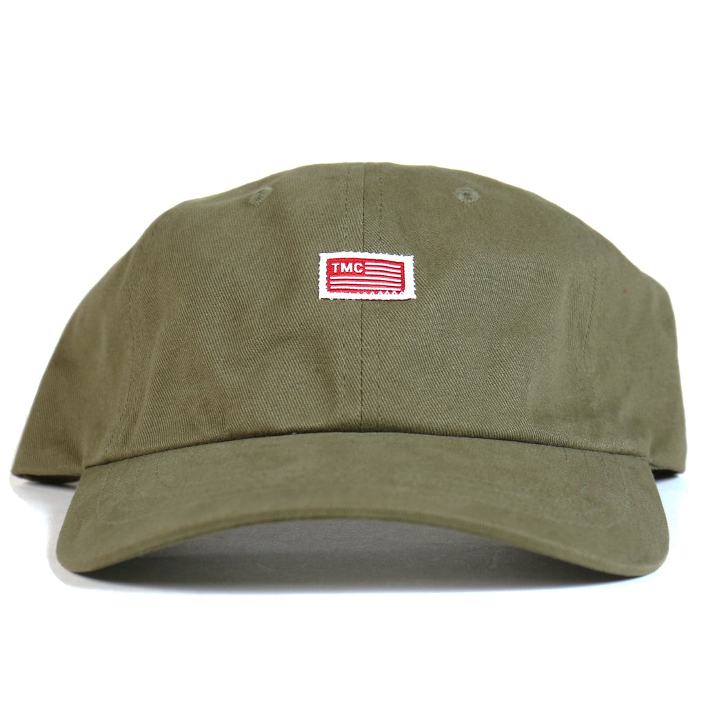 TMC Flag Dad Hat - Olive