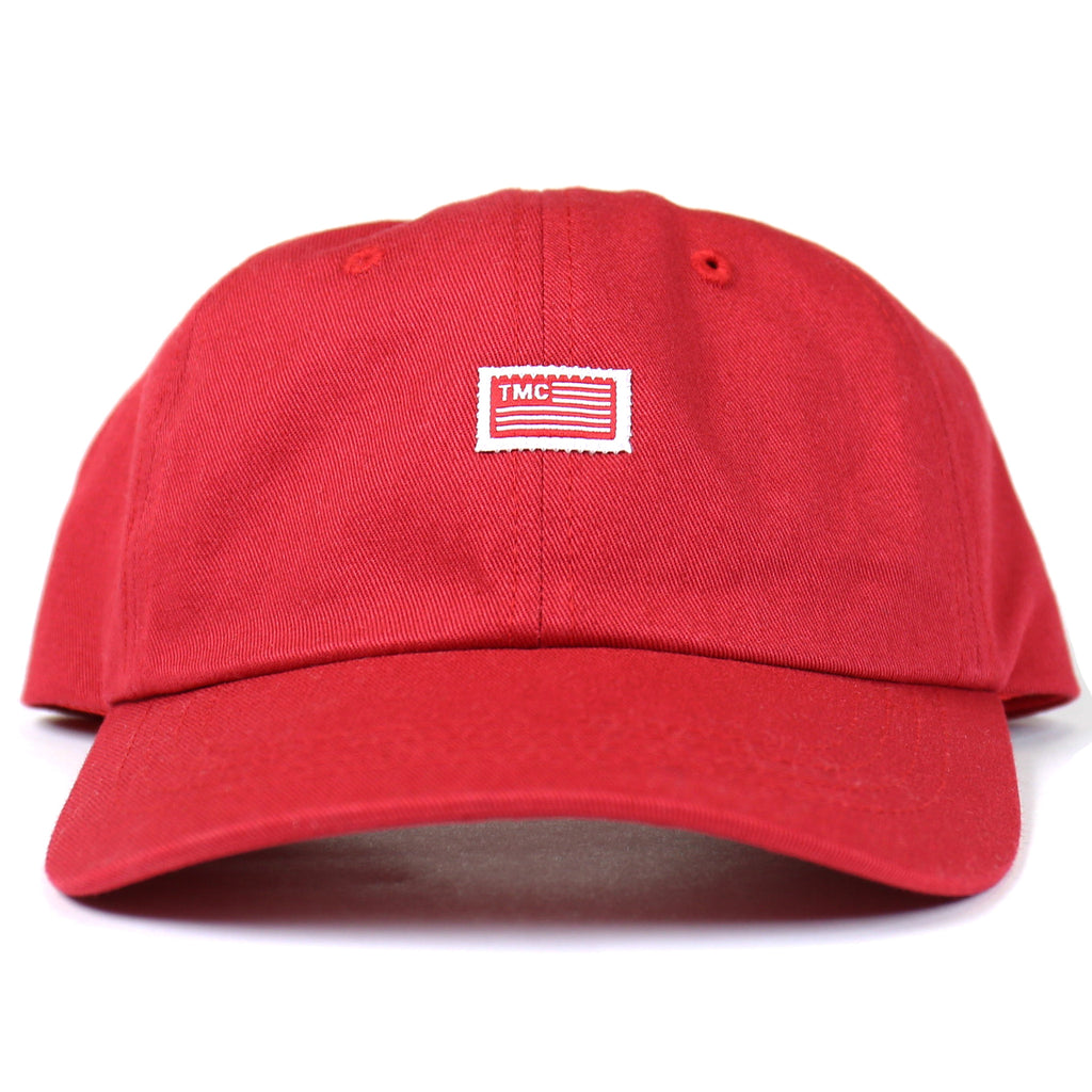 TMC Flag Dad Hat - Red