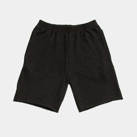 TERRY SHORTS / BLACK