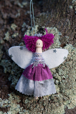 Christmas Angel - LAVENDER