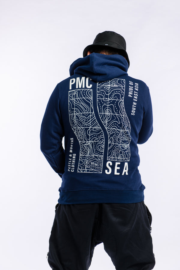 S.E.A. Contour Hoodie Navy (Pre-Orders Only)