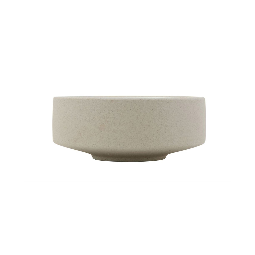 Textured Matte Stoneware Collection - Soup Bowl - Side view