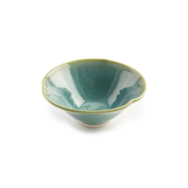 Kate McGuire Altered Bowls - Warm Jade
