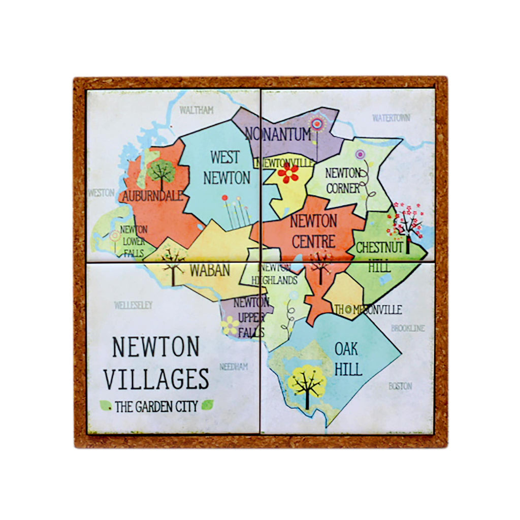 Coaster / Trivet Set - Newton Villages