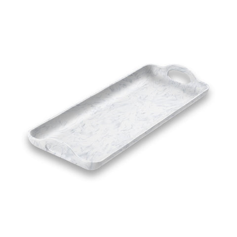Sea Glass Handled Tray