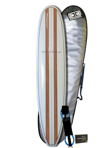 6'10 Beginner Surfboard Bundle