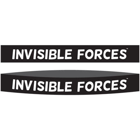 Invisible Forces Silicone Wrist Bands