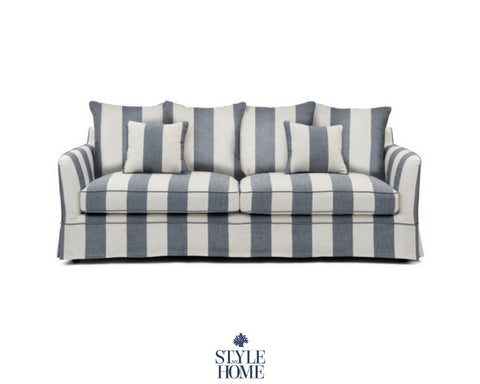 Striped Hamptons Sofa