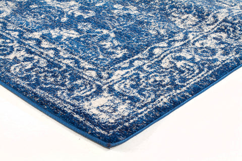 Oasis Navy Transitional Rug