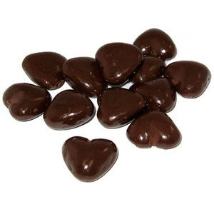 Dark Chocolate Caramel Hearts