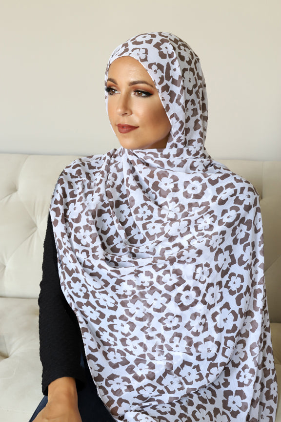 Floral Breeze Signature Chiffon HIjab
