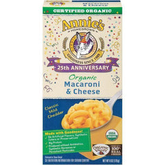 Annie's Homegrown 25th Anniversary Edition Organic Classic Macaroni & Cheese 6 Oz (Pack of 12)