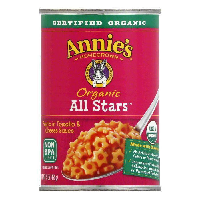 Annies Homegrown Organic All Stars, 15 OZ (Pack of 12)