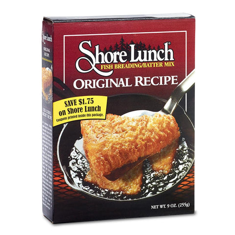 Shore Lunch Fish Breading Mix, 9 OZ (Pack of 10)