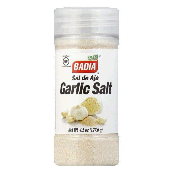 Badia Salt Garlic, 4.5 OZ (Pack of 12)