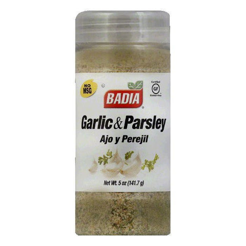 Badia Garlic with Parsley Ground, 5 OZ (Pack of 6)