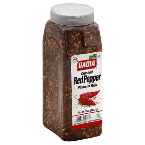 Badia Crushed Red Pepper, 12 Oz (Pack of 6)