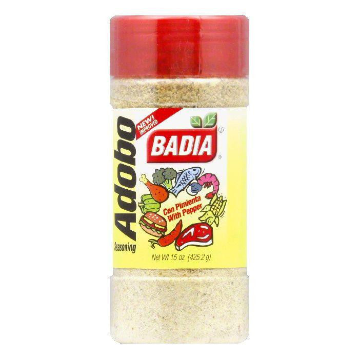 Badia Adobo with Pepper, 15 OZ (Pack of 12)