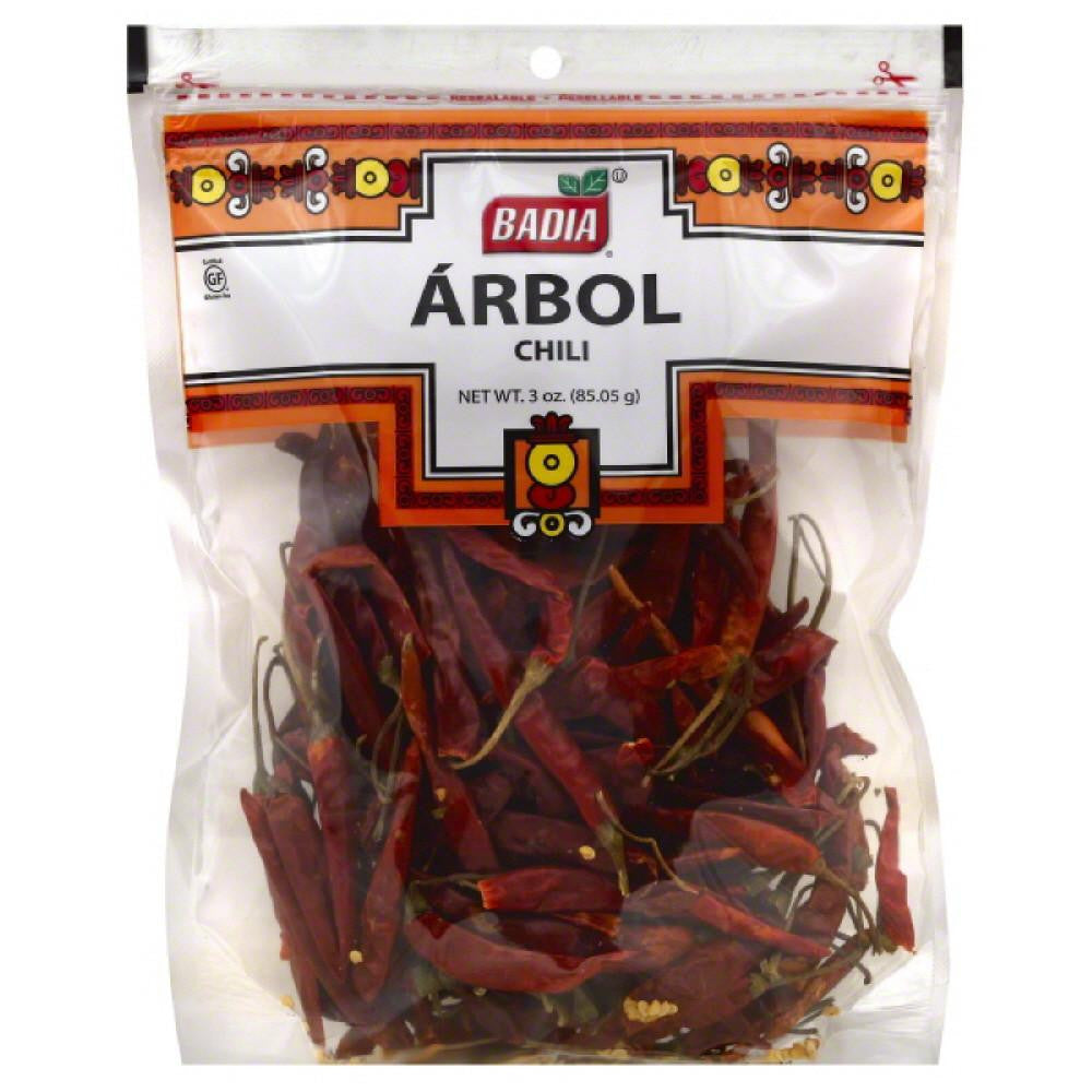 Badia Arbol Chili, 3 Oz (Pack of 12)