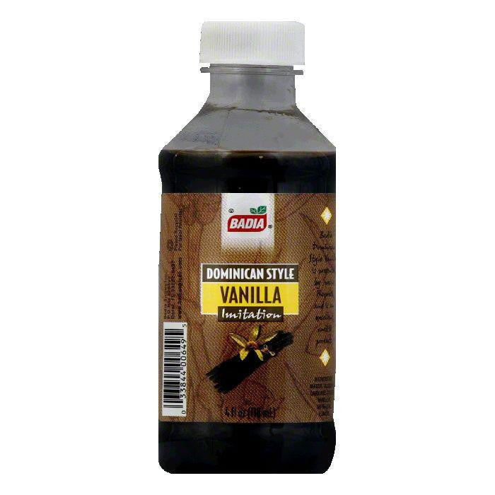Badia Imitation Vanilla, 4 OZ (Pack of 12)