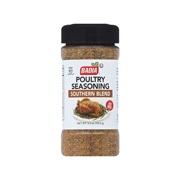 Badia Poultry Seasoning - Southern Blend, 5.5 Oz (Pack of 6)