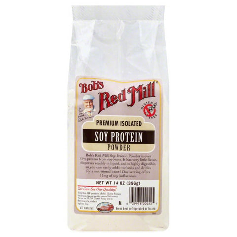 Bobs Red Mill Soy Protein Powder, 14 Oz (Pack of 4)