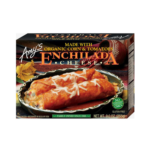 Amy's Kitchen Cheese Enchilada, 9 Oz (Pack of 12)