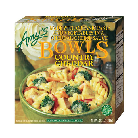 Amy's Kitchen Country Cheddar Bowl, 9.5 Oz (Pack of 12)