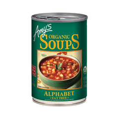 Amy's Kitchen Organic Alphabet Soup, 14.1 Oz (Pack of 12)