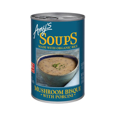 Amy's Kitchen Mushroom Bisque with Porcini, 14 Oz (Pack of 12)