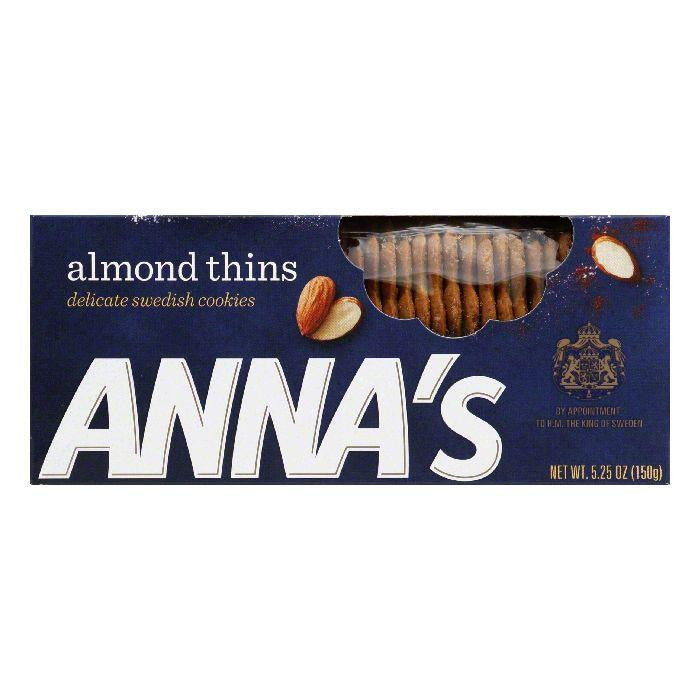 Annas Almond Thins, 5.25 OZ (Pack of 12)